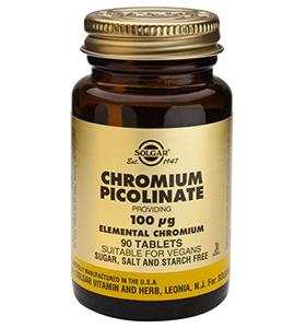 Solgar Chromium Picolinate 100mcg