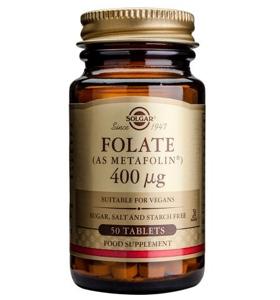 Solgar Folate (Metafolin) 400ug
