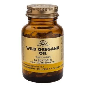 Solgar Wild Oregano Oil gut health anti-fungal anti-bacterial