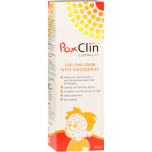 Poxclin CoolMousse supports skin's natural healing process Embrace Life