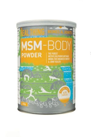 The Real Thing MSM Body Powder