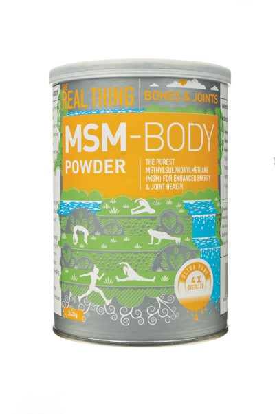 The Real Thing MSM Body Powder - embracelife
