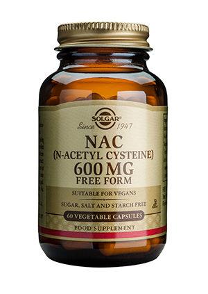 Solgar NAC 600mg 60caps