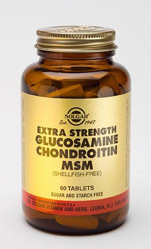 Solgar Extra Strength Glucosamine Chondroitin MSM
